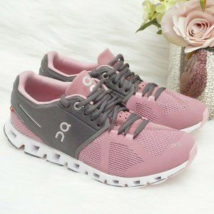 On Cloud Charcoal/Rose Running Walking Training Sh
